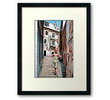Fragrance of Lisbon Framed Print