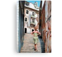 Fragrance of Lisbon Canvas Print