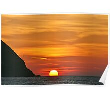 Another Grecian Sunset Poster