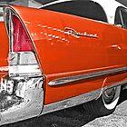 On The Streets - Vintage Packard by GeeNiusPix