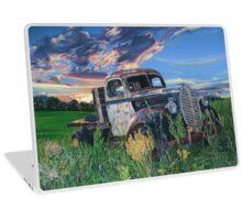 Old Ford Flatbed, by artist Lynn Garwood Laptop Skin