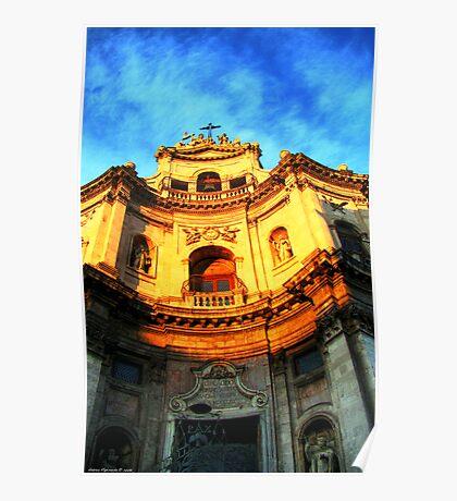 San Placido church, Catania Poster