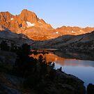 As the Sun Sets on Garnet Lake  by Mar Silva