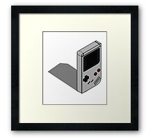 Orthographic Gameboy Framed Print