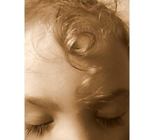 There was a little girl... Photographic Print