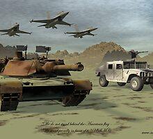 USMC by Sazzart