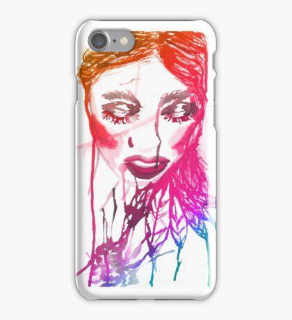 Ink Girl 2 iPhone Case/Skin