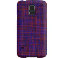 When the blue line cross the red one Samsung Galaxy Case/Skin