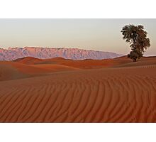 Dune Sunset with Jabal Photographic Print