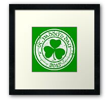St. Paddy's Day 2015 Framed Print