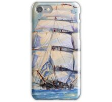 Sailing The Oceans iPhone Case/Skin