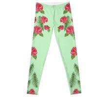Tropical Rose Leggings