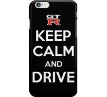 Keep calm and drive gtr iPhone Case/Skin