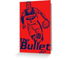 The Bullet Greeting Card