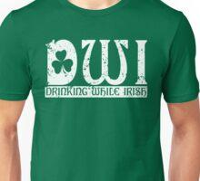 DWI Drinking While Irish grunge look Unisex T-Shirt