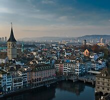 Zürich City by peterwey