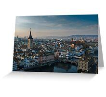 Zürich City Greeting Card