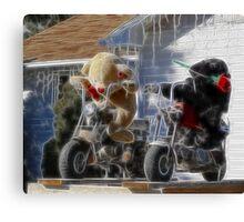 new biker gang Canvas Print