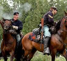 Civil war reenactment  by Anatoliy