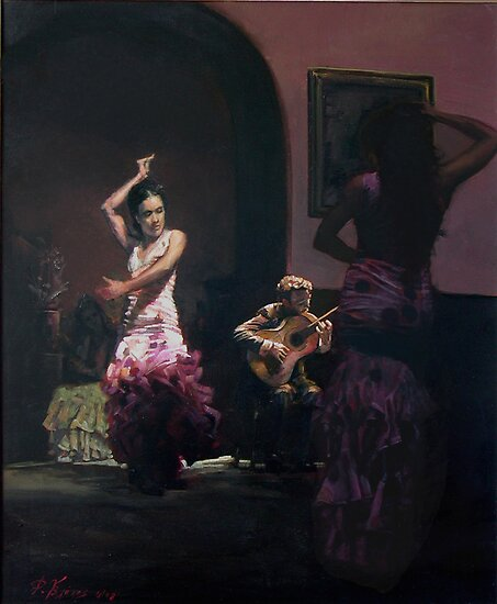 flamenco 1 by Demetrios Vlachos