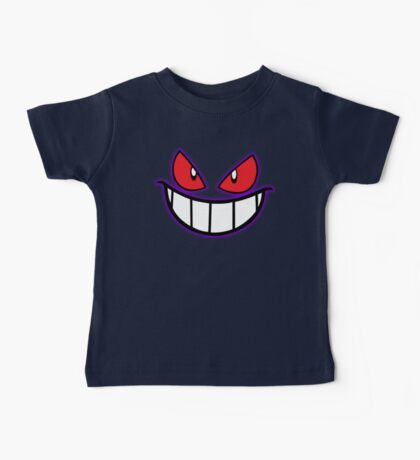 Gengar Monster Purple Pokeball Baby Tee