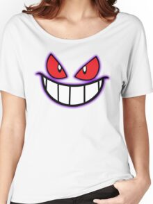 Gengar Monster Purple Pokeball Women's Relaxed Fit T-Shirt