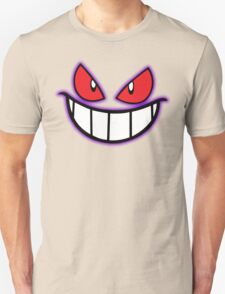 Gengar Monster Purple Pokeball Unisex T-Shirt