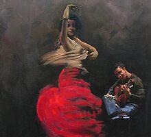 flamenco 2 by Demetrios Vlachos