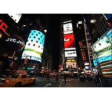 times square 1 Photographic Print
