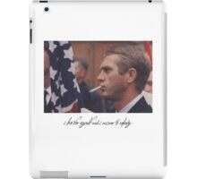 I live for myself iPad Case/Skin