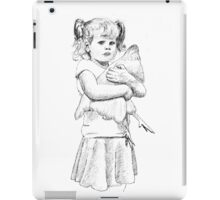 Girl With Chicken and Attitude iPad Case/Skin