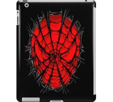 Web face ripped torn tee iPad Case/Skin