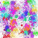 Vivid Splatters by MikaylaM