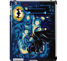 Dark Blue Starry Knight Abstract iPad Case/Skin
