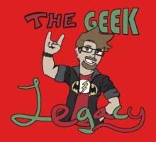The Geek Legacy Logo Baby Tee