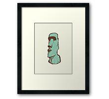 Tiki Toki Framed Print