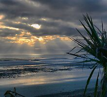 Sunset at Ruby Bay... by Larry Lingard-Davis