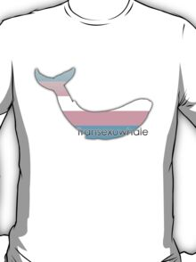 Transexuwhale - Transexual whale T-Shirt