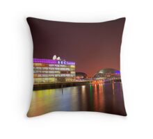 Clyde at Night Time Throw Pillow