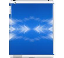 Clouds mirror blue sky  iPad Case/Skin
