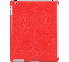 Red kashmir iPad Case/Skin