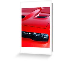 2015 Dodge Challenger Hellcat Greeting Card