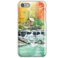Old Water Mill in the Fall iPhone Case/Skin