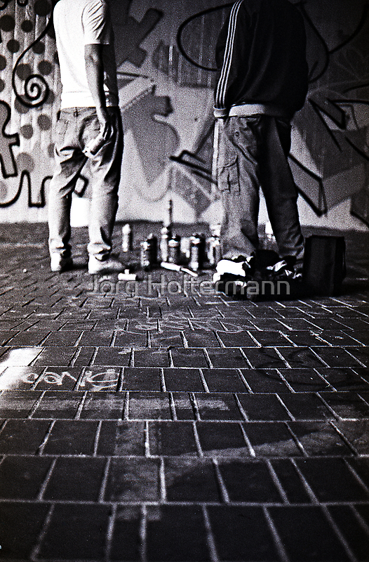 Spray It by Jörg Holtermann