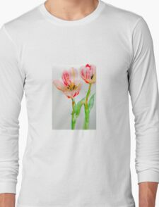 Tulips 2 Long Sleeve T-Shirt