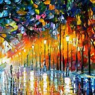 Icy Reflections — Buy Now Link - www.etsy.com/listing/222998846 by Leonid  Afremov