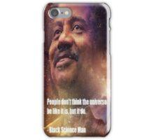 Black Science Man iPhone Case/Skin