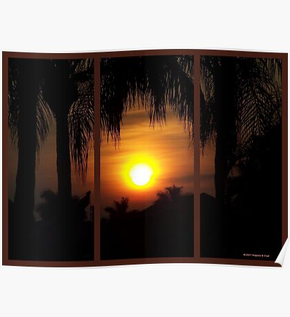 Cape Coral Sunrise  Poster