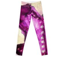Overbust Magenta  Leggings