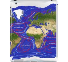 Ocean Currents iPad Case/Skin